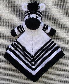 Ravelry: Mini Zebra Lovey Blankie pattern by Lorraine Pistorio