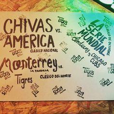 Clásicos en vivo. CHI-AME 26/10 9:00pm MTY-TIG 29/10 8:00pm y LA SERIE MUNDIAL CLE-CHC