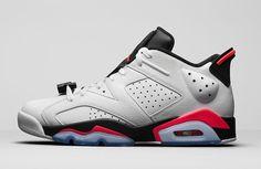 Release Reminder Air Jordan 6 Low White Infrared 1