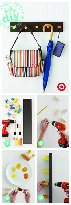 More color, less clutter. Get organized with this simple DIY.