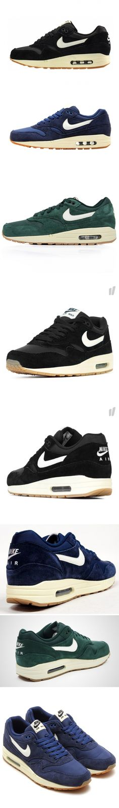AIR MAX 1 ESSENTIAL SUEDE PACK - DCT Air Max 1, Cleats, Essentials, Pairs, Nike, How To Wear, Clothes, Shoes, Fashion