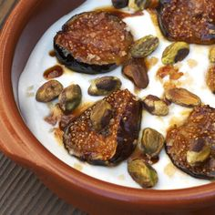 The title of this recipe may be Yogurt With Caramelized Figs, but the dish is really so much more