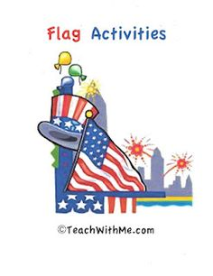 This packet covers the history of our flag, information about the flag, and includes links, articles, art projects, skill sheets and writing activities.    It's a great resource that you can use as an introduction to teaching about the flag or as a plug in activity for Memorial Day,or any other patriotic holiday involving the flag.