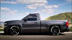 Nice Bagged Trucks, Lowered Trucks, C10 Trucks, Lifted Chevy Trucks, Hot Rod Trucks, Chevy Pickups, Pickup Trucks, Chevy Silverado Single Cab, Silverado Truck