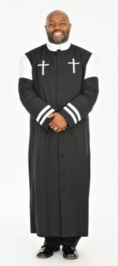 0e7a79bd41 Choose the Men s Hoshea clergy robe for every sunday and every pastor Mens  Attire