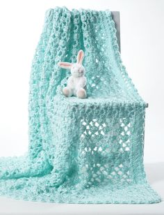 Bernat Crochet Baby Blanket Pattern | Yarnspirations