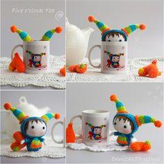 Denizas Toys Joys: 5 o'clock Tea Time. Tanoshi series Lucky Doll.
