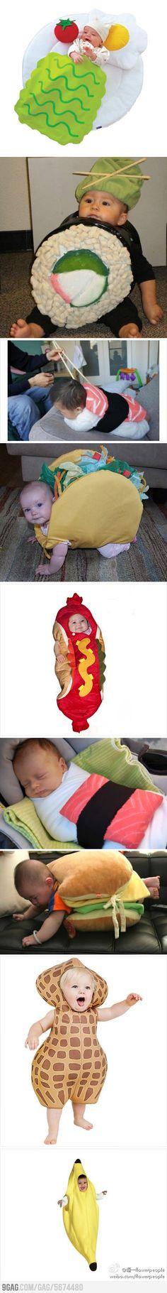 Baby Audrey Costumes! lol :) @Marisa Kirkwood