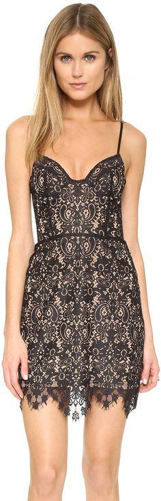 For Love & Lemons Vika Mini Dress