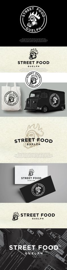 Logo design for the food truck | 99designs