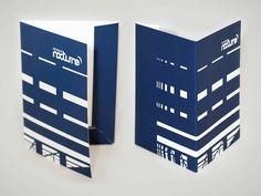 Studio MEZKLADOR Conception de l'identité visuelle de la Compagnie Nocturne // pochette à rabas Nocturne, Software Testing, Hardware Software, Print Design, Company Logo, Studio, Projects, Corporate Design, Graphic Design