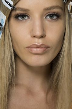 Autumn/Winter 2014: Backstage Beauty At Fashion Week (Vogue.com UK) - Versace