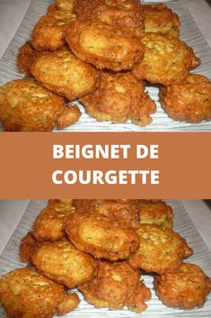 Beignet de courgette – Toutes Recettes Vegan Art, Zucchini Fritters, Tandoori Chicken, Entrees, Chicken Recipes, Sushi, Vegan Recipes, Food And Drink, Protein