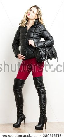 Botas Mujer Fotos, imágenes y retratos en stock   Shutterstock