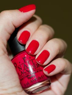 OPI  Dutch Tulips | #EssentialBeautySwatches | BeautyBay.com