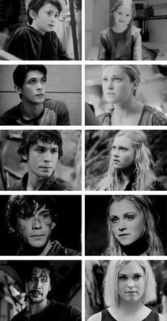 Bellamy and Clarke: Through the Years #The100