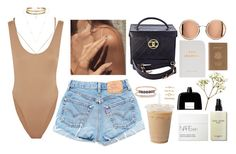 """""""Untitled #88"""" by mia-sa ❤ liked on Polyvore featuring Norma Kamali, Chanel, NARS Cosmetics, Bobbi Brown Cosmetics, ERTH, Royce Leather, COSTUME NATIONAL, Forever 21 and Jacquie Aiche"""