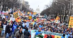 Native Nations Rise march in Washington, D.C.