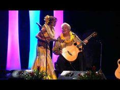 Raiatea Helm  Keola Beamer- Hilo Hanakahi. She has a lovely voice. Trained by Auntie Genoa.