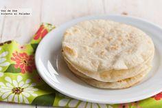 Cómo hacer tortillas de maíz para tacos. Receta mexicana. Receta con fotos del paso a paso y presentación.Trucos y consejos de elaboración.Recetas mexicanas