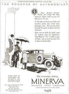 1928, Minerva, 6 cyl. 32-34 pk