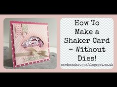 """Sarah-Jane Rae cardsandacuppa: Stampin' Up! UK Order Online 24/7: How to Make a """"Love Bug"""" Shaker Card Without Dies using Beautiful Ride by Stampin' Up! FREE Video Tutorial"""