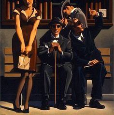 Such a Sight, 1998, 48 x 48 inches, oil on canvas© Kenton Nelson 1998