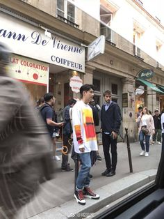 Yixing, Street View, Lay Exo, Coloring
