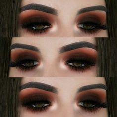 30 Colorful Eye Makeup Looks Makeup Eye Looks, Cute Makeup, Smokey Eye Makeup, Glam Makeup, Pretty Makeup, Makeup Geek, Skin Makeup, Makeup Inspo, Eyeshadow Makeup