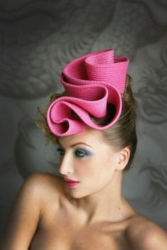 Woman's hat – Page 19 – yeslip Millinery Hats, Fascinator Hats, Fascinators, Headpieces, Fancy Hats, Cool Hats, Crazy Hats, Stylish Hats, Cocktail Hat