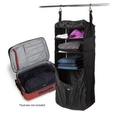 This travel luggage shelf is perfect for your carry-on Carry On Luggage, Travel Luggage, Travel Bag, Travel Packing, Hard Sided Luggage, Large Suitcase, Passport Travel, Smart Styles, Travel Organization