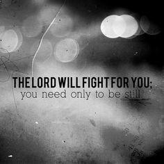Exodus 14:14.