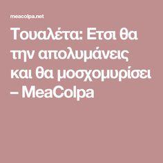 Τουαλέτα: Ετσι θα την απολυμάνεις και θα μοσχομυρίσει – MeaColpa