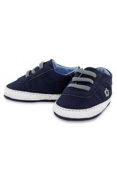 Zapato bebé de chico color azul marino Mayoral