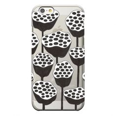"iPhoneケース「ドライロータス」//  iPhone case ""Dried lotus"" // Asuka Eo & CINRA.STORE"