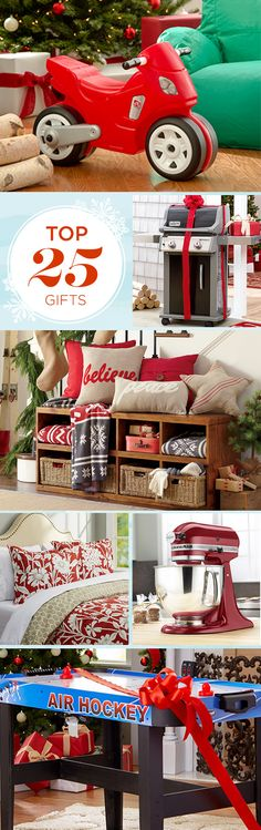 We've taken the stress out of gift-giving with this round-up of our top 25 gifts! Whether you're looking for the perfect recliner for him or a luxurious vanity set for her, these picks won't disappoint. Sign up today and unwrap saving on gifts that spread cheer! Save up to 70% off our holiday wishlist event and enjoy free shipping on all orders over $49.