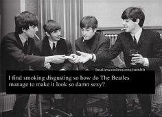 Smoking Beatles