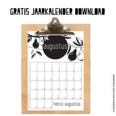 Leuke maandkalender augustus - Moodkids   Moodkids