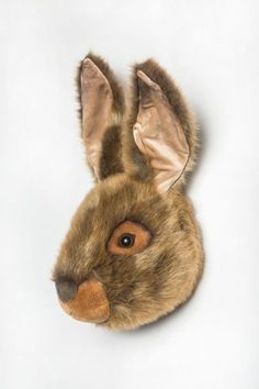 You would be hopping mad not to add Lewis into your life. This handsome hare, from Wild and Soft, would make a wonderful gift for any animal-crazy kid. Hare Animal, Crazy Kids, Cute Plush, Soft And Gentle, Color Beige, Animal Heads, Plush Animals, Cute Bunny, Panda Bear