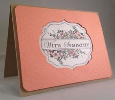CC479 Apothecary Art Sympathy Card by TooManyCats - Cards and Paper Crafts at Splitcoaststampers