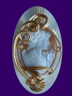 Hand Carved Cameo