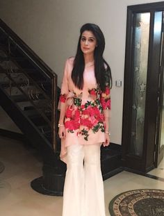 Asifa&Nabeel Pakistani Fashion Casual, Pakistani Outfits, Asian Fashion, Indian Outfits, Women's Fashion, Stylish Dresses, Casual Dresses, Fashion Dresses, Indian Designer Outfits