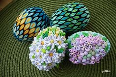 @ Mariola Żywicka - quilled Easter 1 (Searched by Châu Khang) Paper Quilling Designs, Quilling Jewelry, Quilling Craft, Egg Crafts, Diy And Crafts, Arts And Crafts, Paper Crafts, About Easter, 3d Christmas