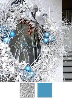 La couronne de Noël - Nuancier 10
