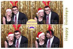 #PhotoBoothRentalVancouver http://www.paradiseevents.com/photo-booth-rental/ #Photobooth #PhotoBooth #GoldBackdrop #Props