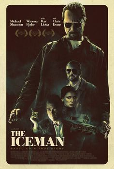 """GREAT MOVIE Michael Shannon, Ray Liotta and Winona Ryder in the film """"The Iceman"""" based on the life of notorious, ruthless hit-man Richard Kuklinski. Great Movies, New Movies, Throwback Movies, Movie Stars, Movie Tv, Gangster Movies, The Iceman, Michael Shannon, Christian Movies"""