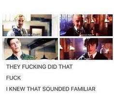 The references! Harry Potter Feels, Draco Harry Potter, Harry Potter Images, Harry Potter Universal, Harry Potter World, Draco Malfoy, Dc Comics, Yer A Wizard Harry, Dc Memes