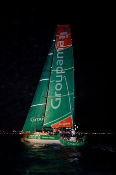 Victory for Groupama 4 / in the Volvo Ocean Race