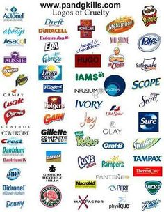 When you buy anything from these brands you are supporting animal cruelty!