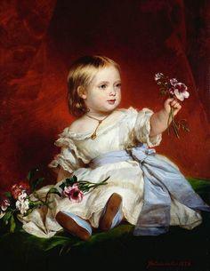 Victoria, Princess Royal, daughter of Queen Victoria by Winterhalter, 1842